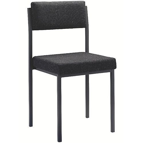 Jemini Multi-Purpose Stacking Chair Charcoal KF04000