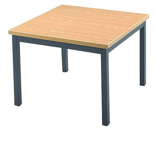 Jemini Square Reception Table Beech KF03593