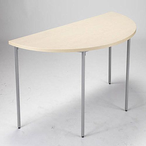 Jemini Semi-Circular Table 1600mm Maple KF72384