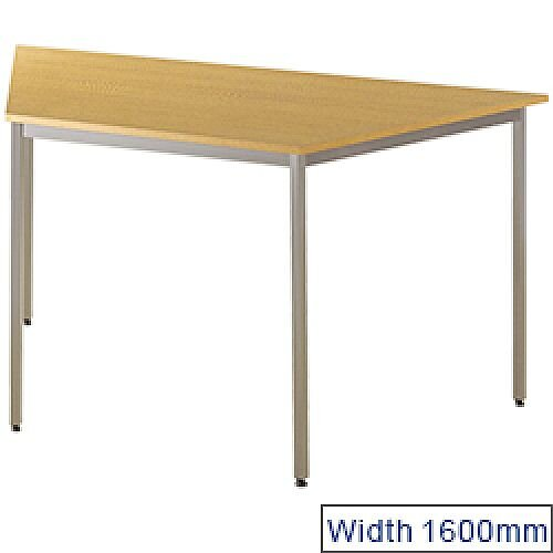 Jemini Trapezoidal Table 1600x800mm Beech KF72379
