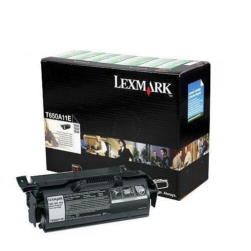 T650A11E Lexmark Black Toner T650