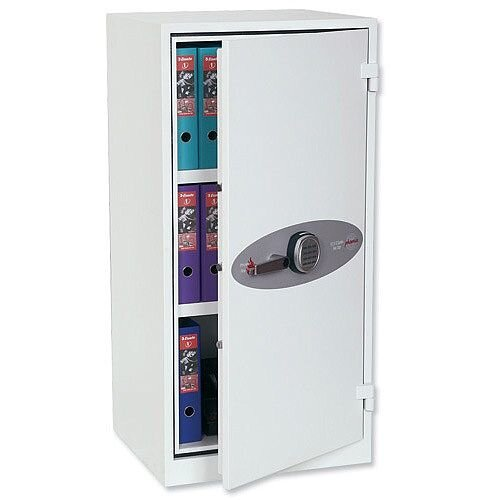 Phoenix Fire Ranger FS1511K Size 1 Fire Safe with  Key Lock  White 230L 30min Fire Protection