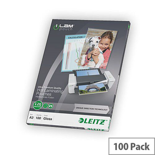 Leitz DT Laminating Pouch A3 125 micron Pack 100
