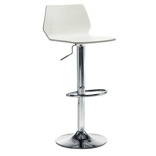 Stork Cafe Stool - White