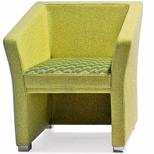 Jill Single Seater Armchair Green