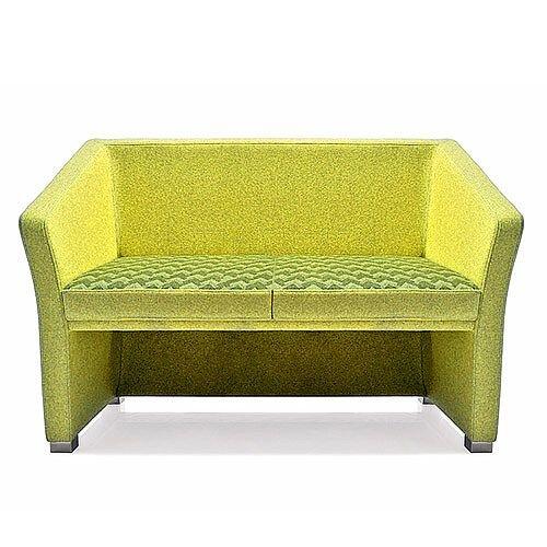 Jill Two Seater Sofa Green