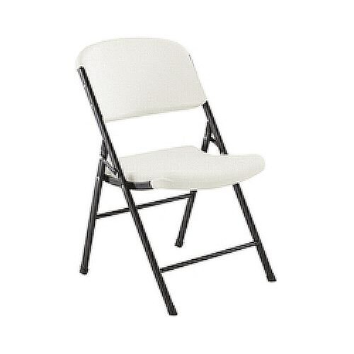 Pleasant Jemini Heavy Duty Folding Chair White Machost Co Dining Chair Design Ideas Machostcouk