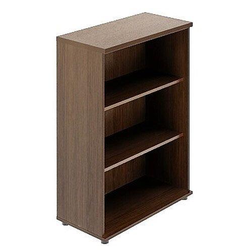 Quando Open Bookcase 1129H x 432D x 801W 3 Levels - Chestnut