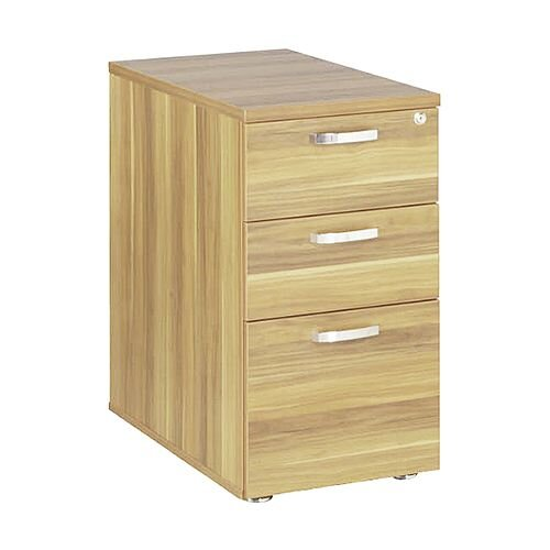 Avior 600mm Desk High Pedestal Natural