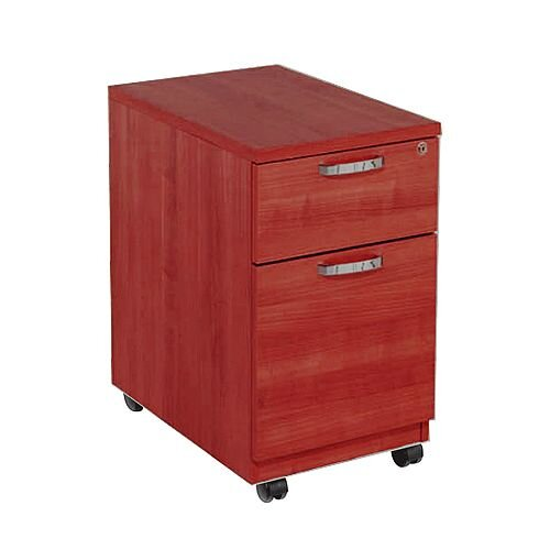Avior 2-Drawer Mobile Pedestal Cherry