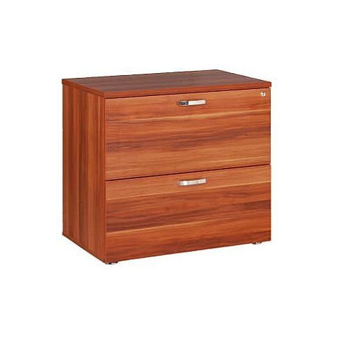 Wooden 2-Drawer Side Filer Cherry Avior