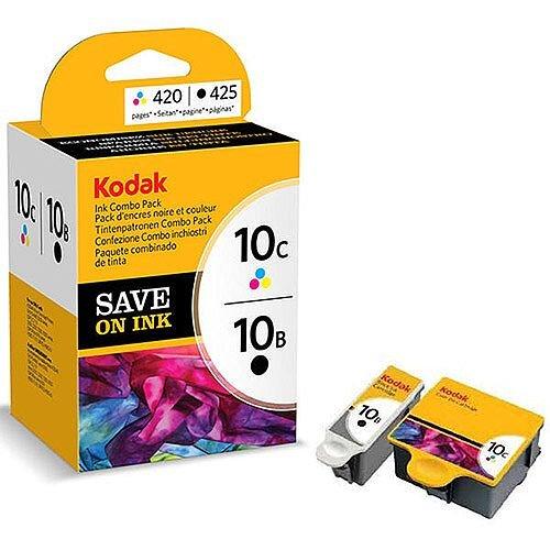 Kodak Inkjet 10 Black & Colour Ink Cartridges