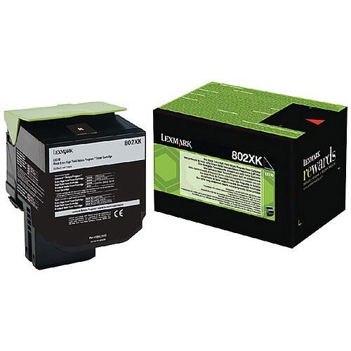 Lexmark Black Rp Toner Cartridge 80C2Xk0 Pk1