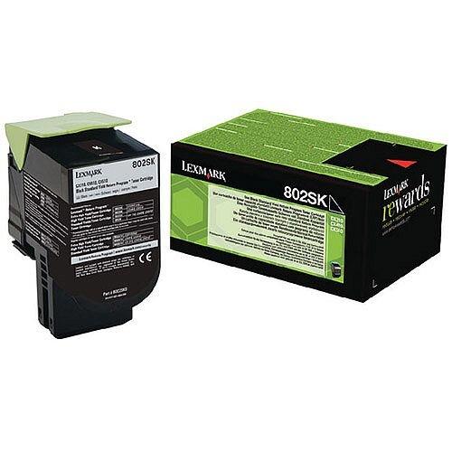Lexmark Black Rp Toner Cartridge 80C2Sk0 Pk1