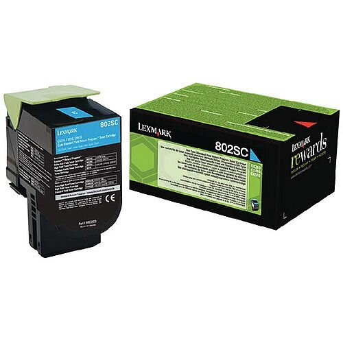 Lexmark Cyan Rp Toner Cartridge 80C2SC0