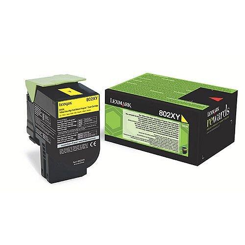 Lexmark Yellow Rp Toner Cartridge Extra High Yield 80C2XY0