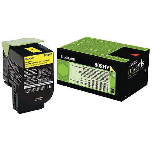 Lexmark Yellow Rp Toner Cartridge High Yield 80C2HY0