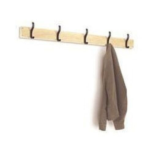 Lion Steel Wall Coat Hooks 1000mm HOOK10