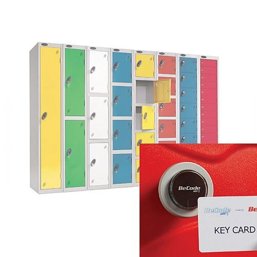 Lockers With Keyless Card Operated Lock