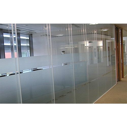Logika 5000 Double Glazed Frameless Office Partitioning