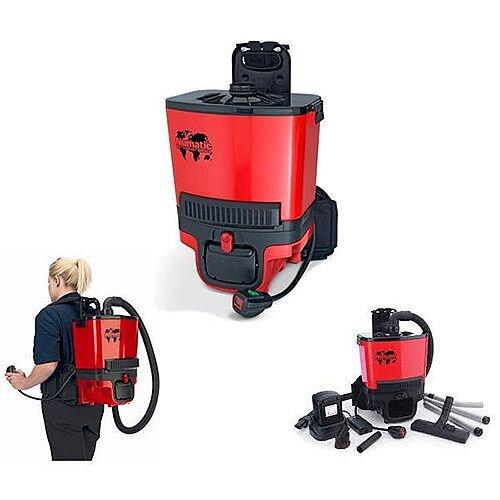 Numatic Rsb.140 Backpack Vacuum Cleaner Rd