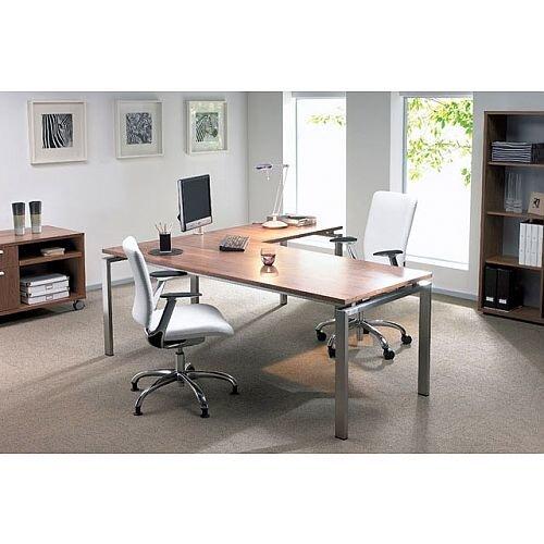 Oblique Intuition Executive Desking System