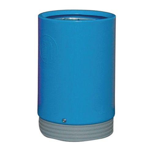 Outdoor Open Top Litter Bin 75 Litre Blue 321777 124503