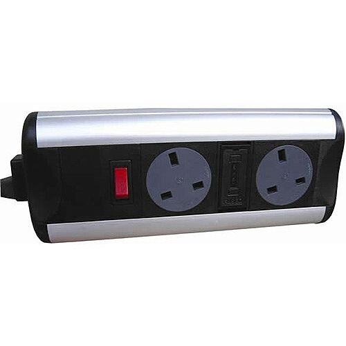CR Ozone D2 UK integrally Fused Sockets With Switch OZONE20