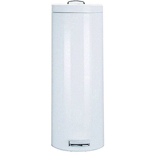 Pedal Waste Bin 20 Litre 640x250mm White 311730