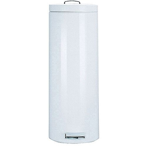 Pedal Waste Bin 30 Litre 695x293mm White 311732