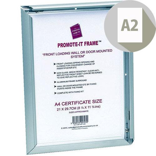 Photo Album Company Promote It Aluminium Frame A2 PAPFA2B