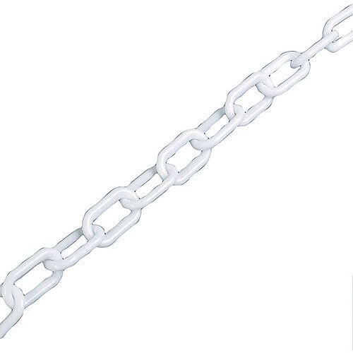 Plastic Chain 6mm White 360073