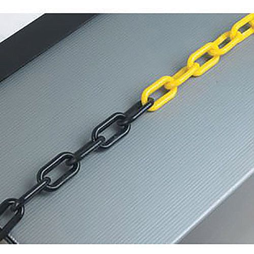 Plastic Chain 8mm Black/Yellow 360079