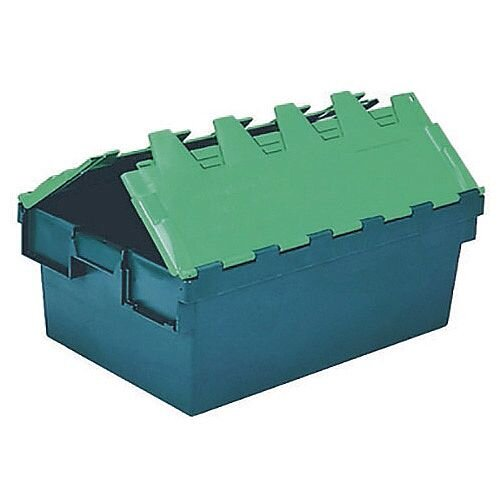 Plastic Container/Lid Green 40 Litre 306584