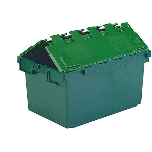 Plastic Container/Lid Green 80 Litre 306604