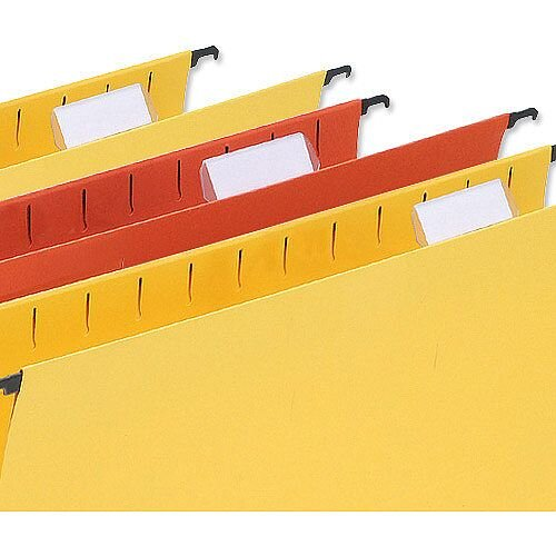 Plastic Tabs For 5 Star Wrap-Over Suspension Files Pack 50