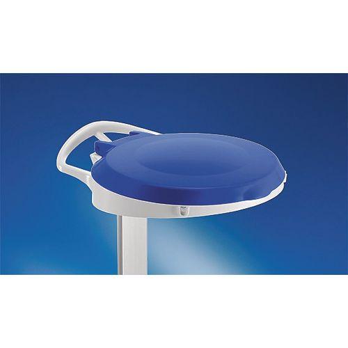 Plastic Round Lid For Smile Sackholder Blue 348033