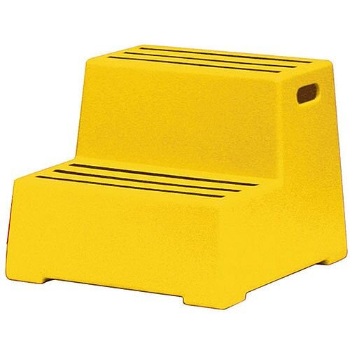 Plastic Safety Step 2-Step Yellow 325097