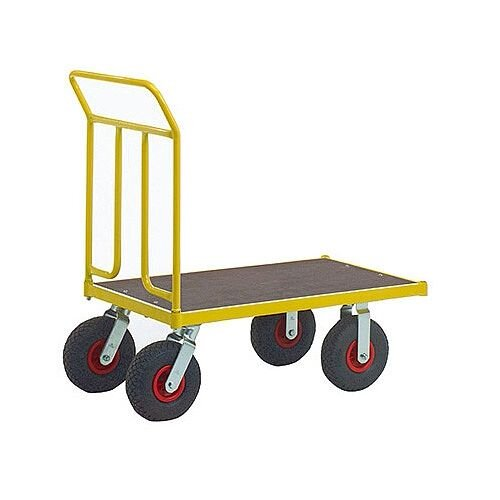 VFM Yellow Platform Truck Pneumatic Tyre 371754 400kg