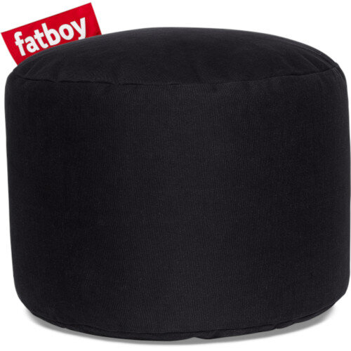 The Point Stonewashed Bean Bag 35x50 Black Suitable for Indoor Use - Fatboy The Original Bean Bag Range
