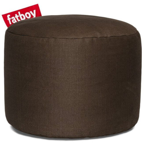 The Point Stonewashed Bean Bag 35x50 Brown Suitable for Indoor Use - Fatboy The Original Bean Bag Range