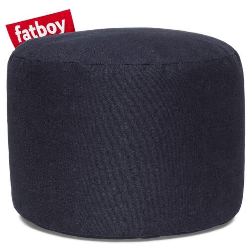 The Point Stonewashed Bean Bag 35x50 Dark Blue Suitable for Indoor Use - Fatboy The Original Bean Bag Range