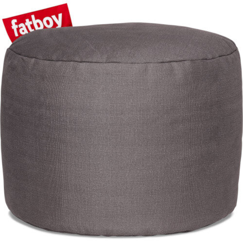The Point Stonewashed Bean Bag 35x50 Grey Suitable for Indoor Use - Fatboy The Original Bean Bag Range