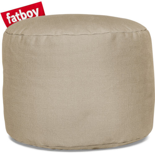 The Point Stonewashed Bean Bag 35x50 Sand Suitable for Indoor Use - Fatboy The Original Bean Bag Range
