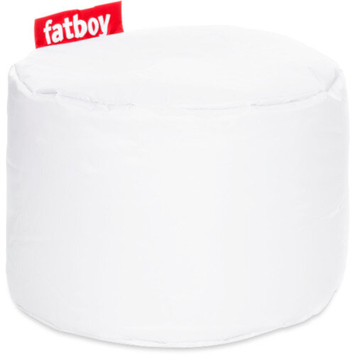 The Point Bean Bag 35x50cm White Suitable for Indoor Use - Fatboy The Original Bean Bag Range