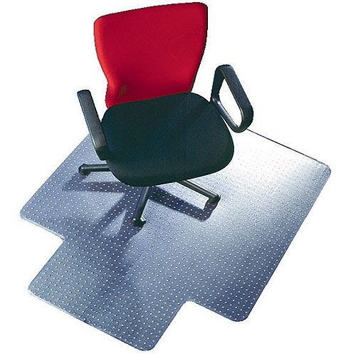 Q-Connect Universal Chairmat With Lip PVC 914x1219mm Clear