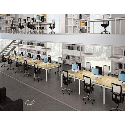 Quadrifoglio Officity X4 Call Centre Desking Range