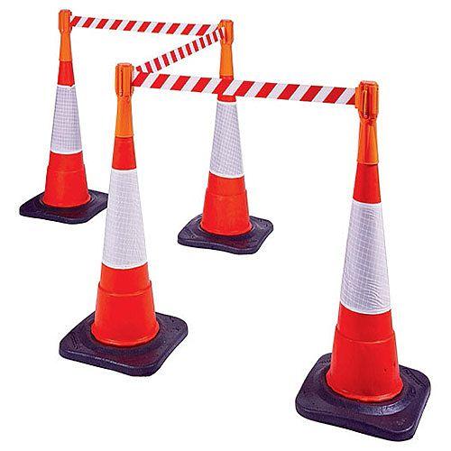 Retractable Web Belt for Traffic Cone Orange 329334
