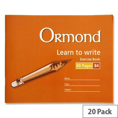Ormond B4 Learn to Write 40 Page Copy - 20 Copies