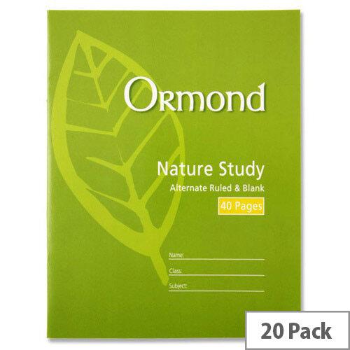 Ormond 40 page Nature Study Copy - 20 Copies